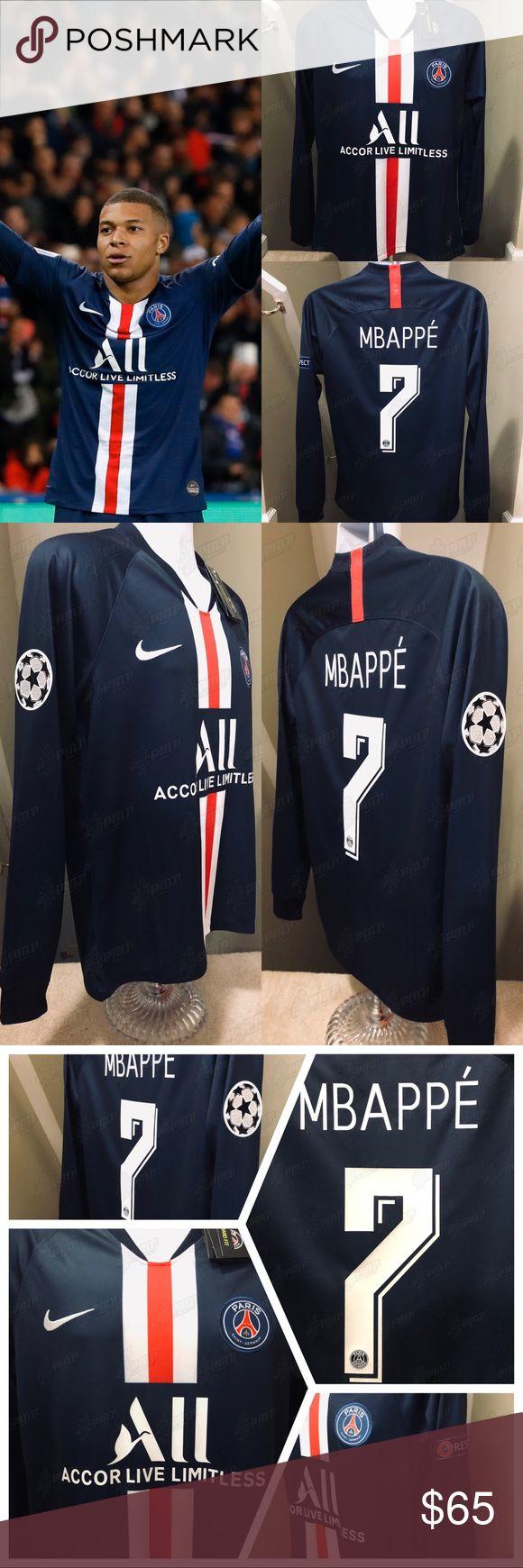 2019 PSG Soccer Jersey MBAPPÉ Paris SaintGermain Paris