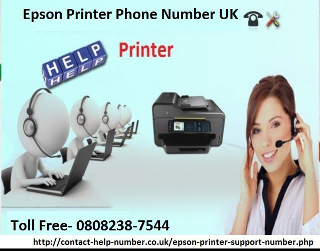 If you are looking for the best support services for the issues in Epson, then you must connect to the technical experts at Toll Free Epson Printer Phone Number UK 0808-238-7544 and receive best assistance and support in a short time.