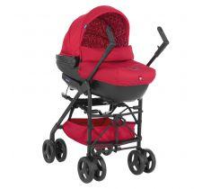 Универсальная детская коляска Chicco Trio Sprint Scarlet