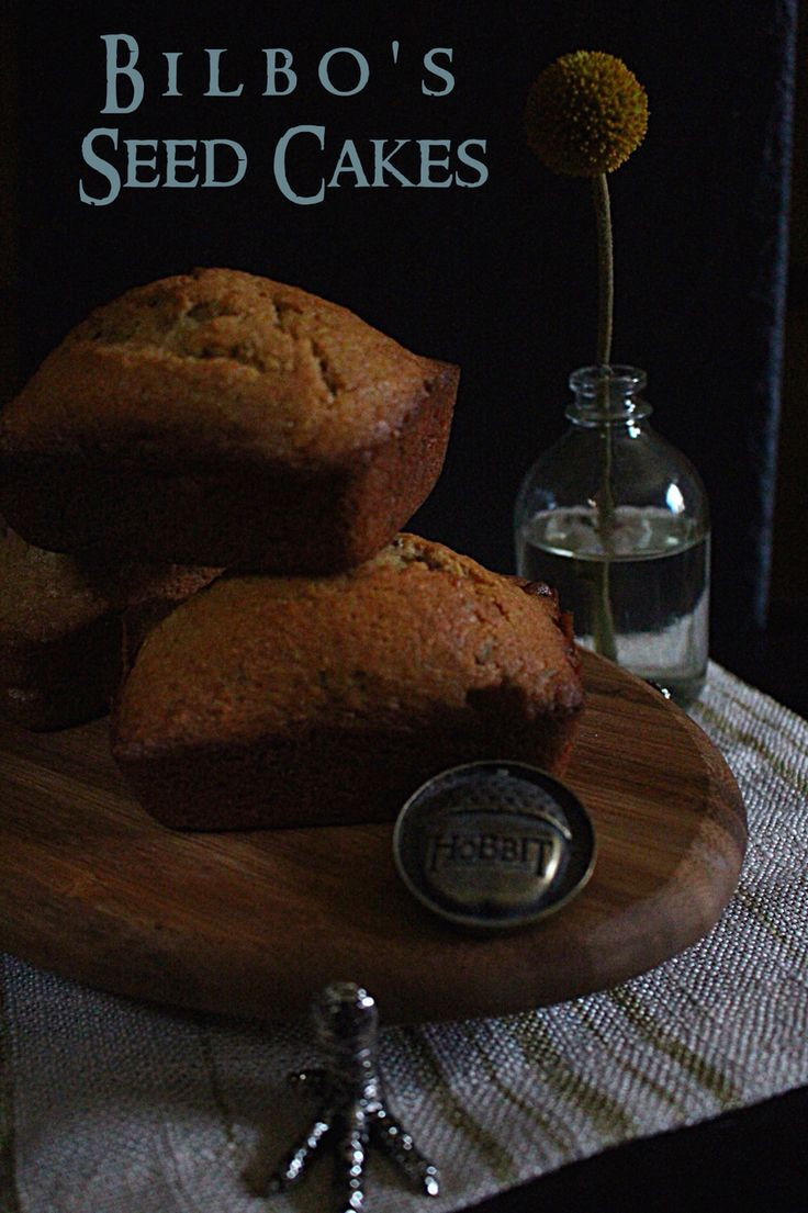 Hobbit Recipes Seed Cake