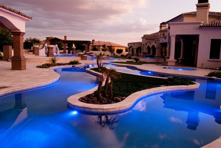 52 best tribal waters custom pool gallery images on pinterest custom pools pool spa and for Phoenix swimming pool white city