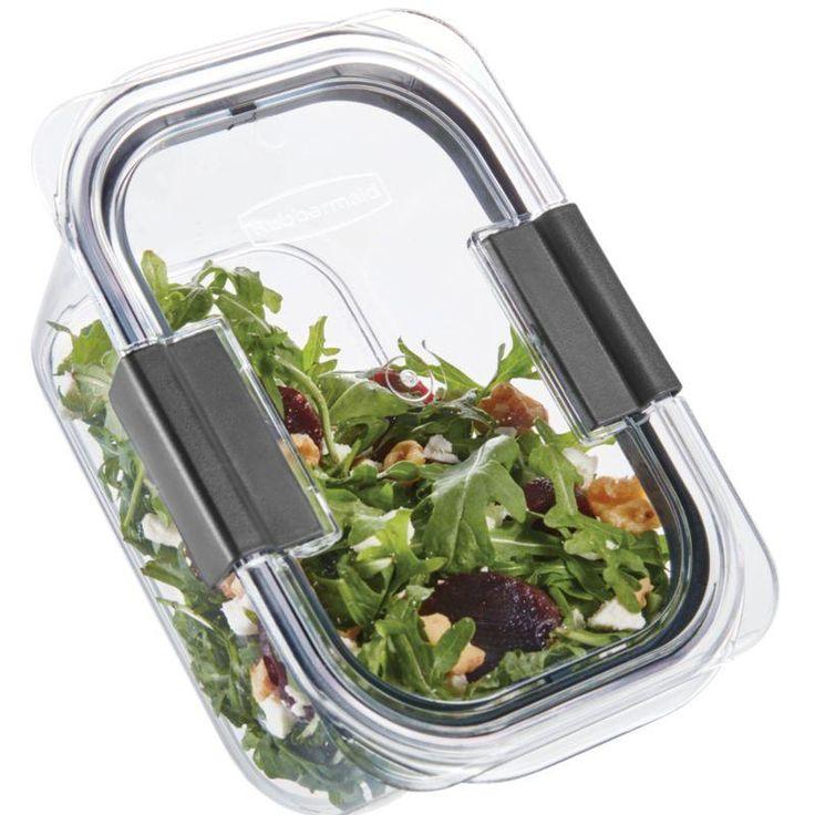Rubbermaid Brilliance Salad Lunch Storage Container ...