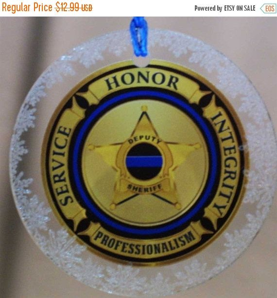 ON SALE Deputy Sheriff Service Honor Integrity by RescueTees