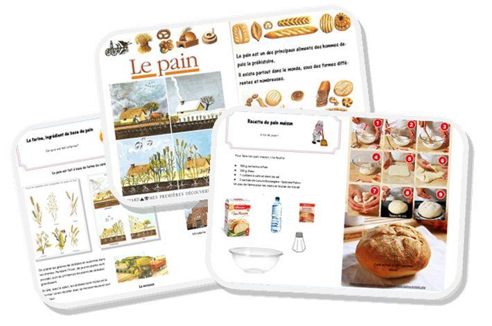 """étude documentaire """"du blé au pain"""" cycle 2"""