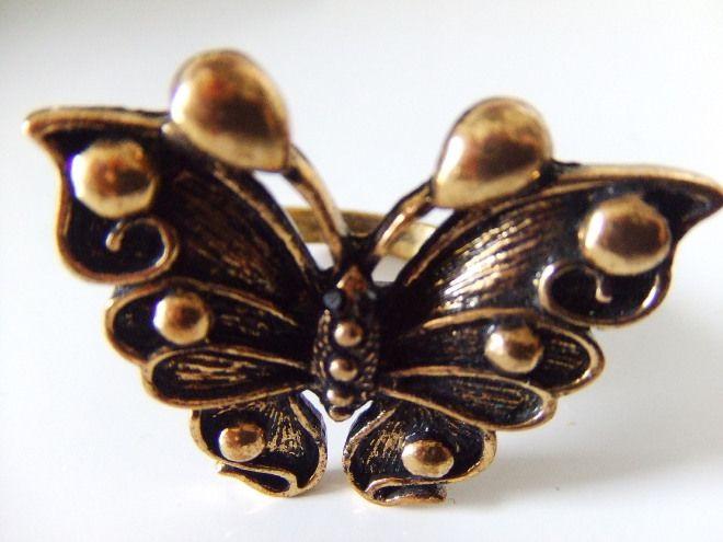 Fly aveay.. - ANELLO CON FARFALLA #jewels