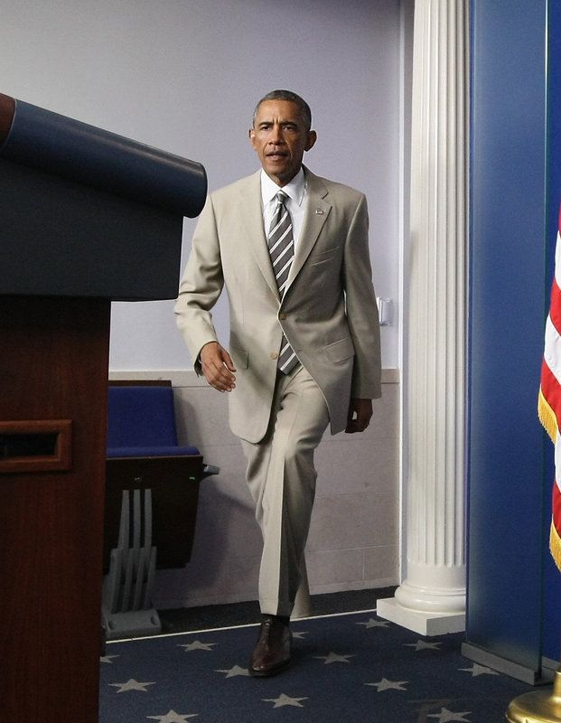 Obama Is Back From Vacation And Looking