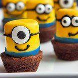 Birthday Party Ideas Despicable Me Minion Marshmallows