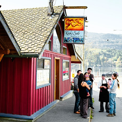 Rock Salt Restaurant on Salt Spring Island