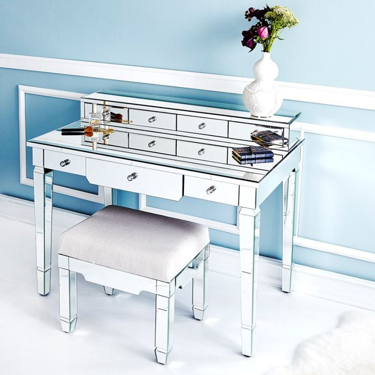 27 best bungalow 5 mirrored furniture images on for Bungalow 5 desk