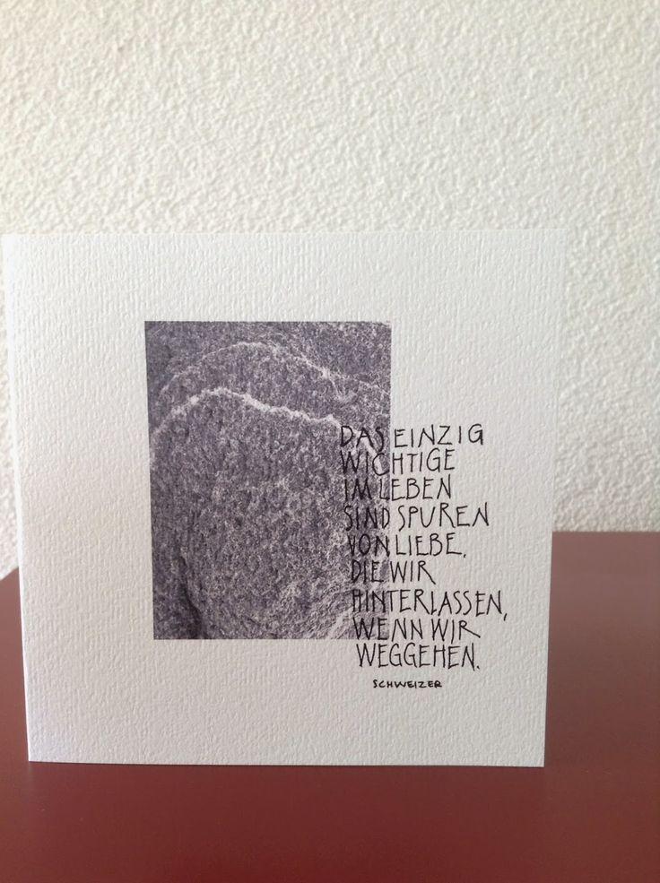 KARTENTRAUM: Trauerkarte