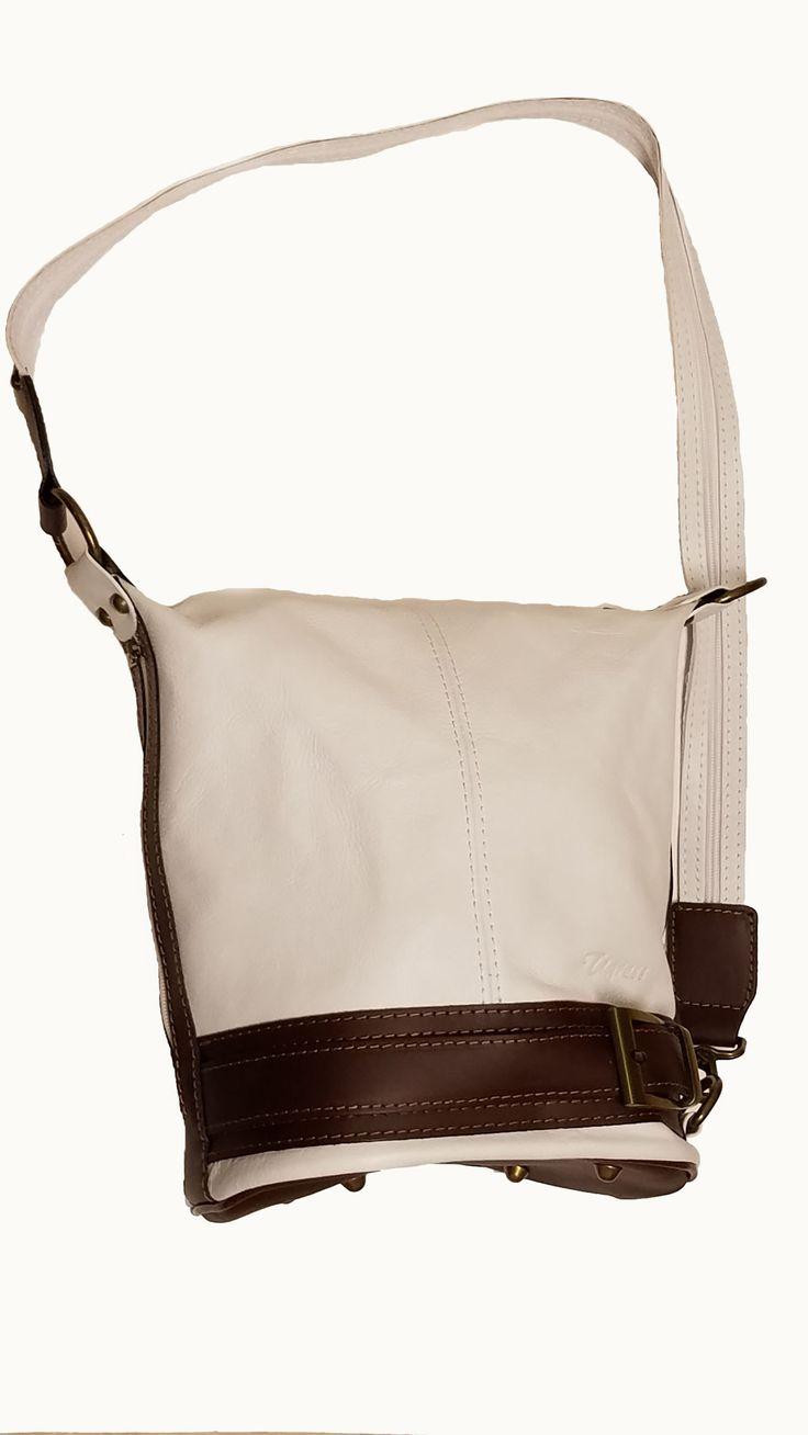 Leather Bucket Shoulder Bag