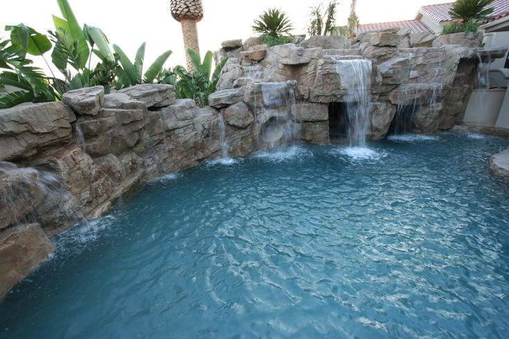 1000 Images About Rock Swimming Pools Artificial Rock On Pinterest Small Yards Ontario And