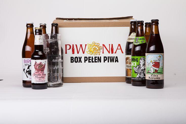 Piwonia - box pełen piwa