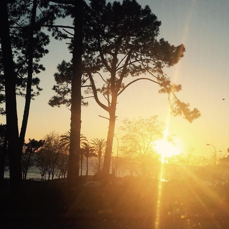 Atardecer en Vigo #Atardecer #sunset #Galicia