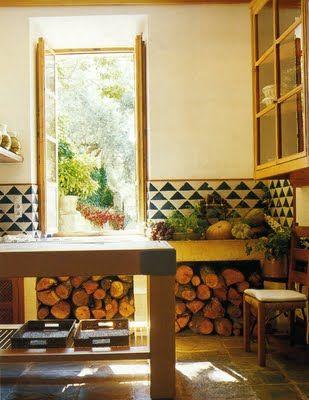 Black & White: Kitchens Redo, Foto De, Claire Foto, Superior Interiors, Interiors Design, Future House, Cabin Idea, Kitchens Idea, Tile Inspiration