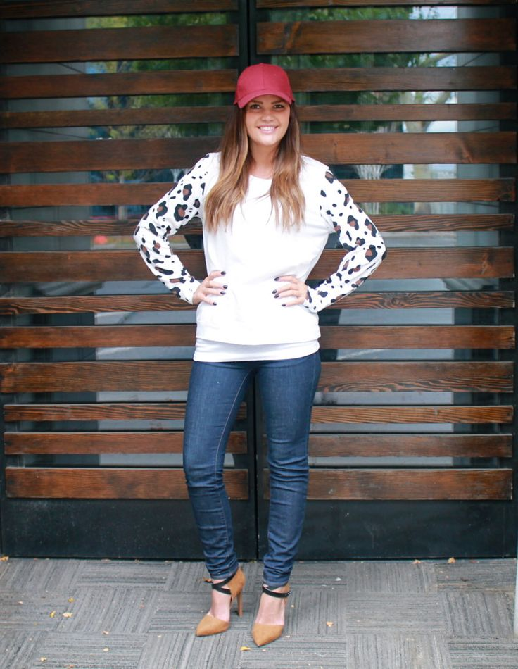 Wild One Forever: Animal Print and a Baseball Hat