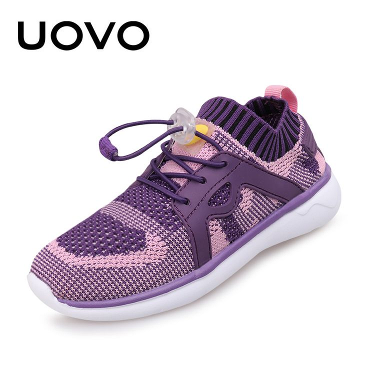 ==> [Free Shipping] Buy Best UOVO Fly Knit Kids Shoes Breathable Spring Summer Shoes for Boys Girls Childrend Sneakers Fashion Sport Shoes Online with LOWEST Price | 32804883825