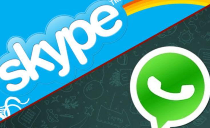 WhatsApp Podría Añadir Una Función de Llamadas Vía Skype