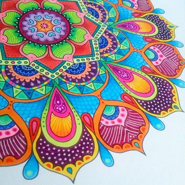flor azul jardim secreto : flor azul jardim secreto:1000 ideias sobre Arte Batik no Pinterest