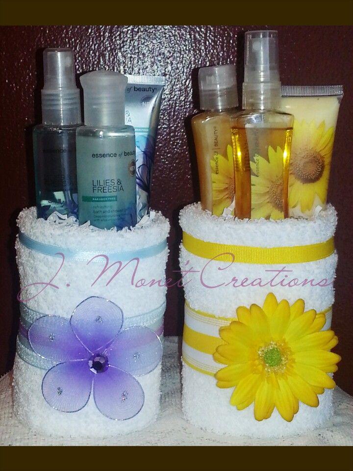 Mini Towel Cakes #JMonetCreations