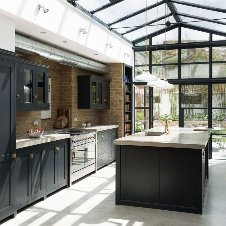 Balham kitchen from bespoke specialists deVOL, which combines classic style, modern materials, and clever details to create a very special space.