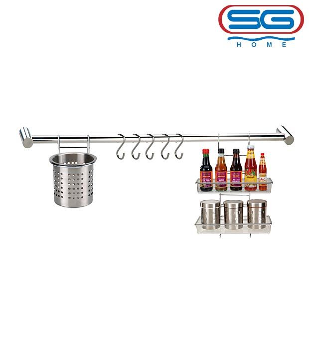 SG Stainless Steel Kitchen Accessory Set