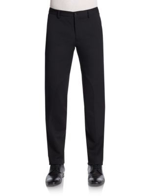 VERSACE Wool-Blend Trousers. #versace #cloth #trousers