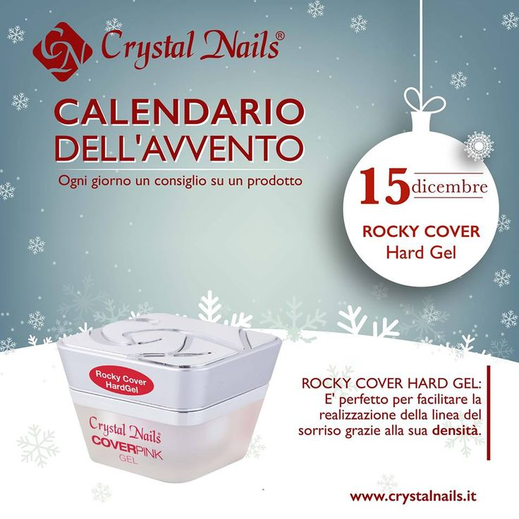 Calendario dell'avvento Crystal Nails - 15 dicembre #cover #rockycover #crystalnails