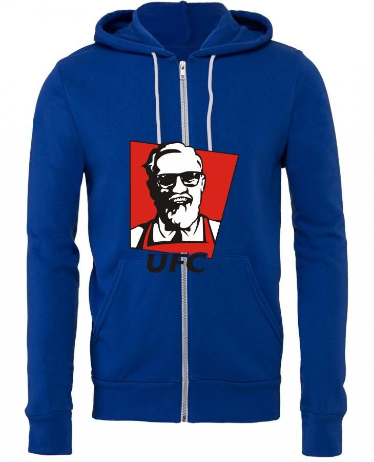 the notorious conor mcgregor t shirt funny ufc kfc Zipper Hoodie