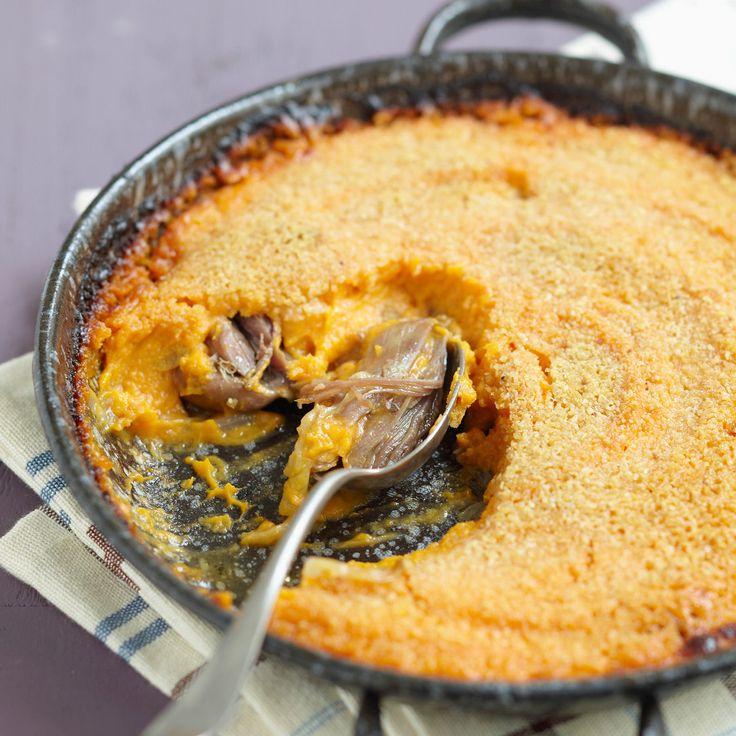 Découvrez la recette du hachis parmentier à la patate douce