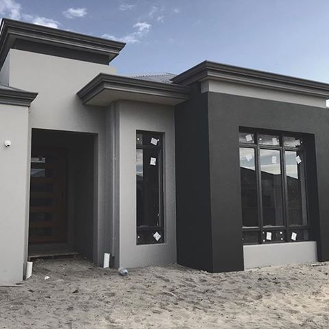 #dreamhome in progress! How about those colours?! We're loving it @blvkfoxstore  #monochrome #homegroupwa