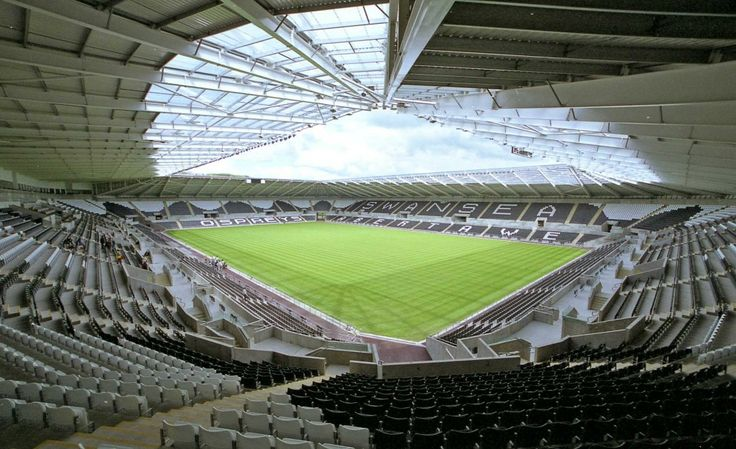 The Liberty Stadium - home of Swansea City Football Club and holds a crowd of up to 20,532.