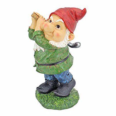 Design Toscano Bogey Burt Garden Gnome Statue