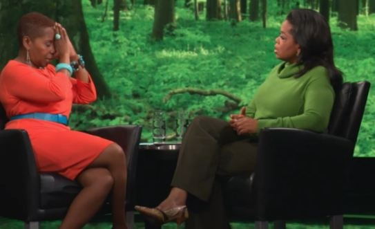 Oprah and Iyanla Vanzant 'Spiritually Fed' by Gospel's Donnie McClurkin and Rapper Eminem? [VIDEO] | AT2W