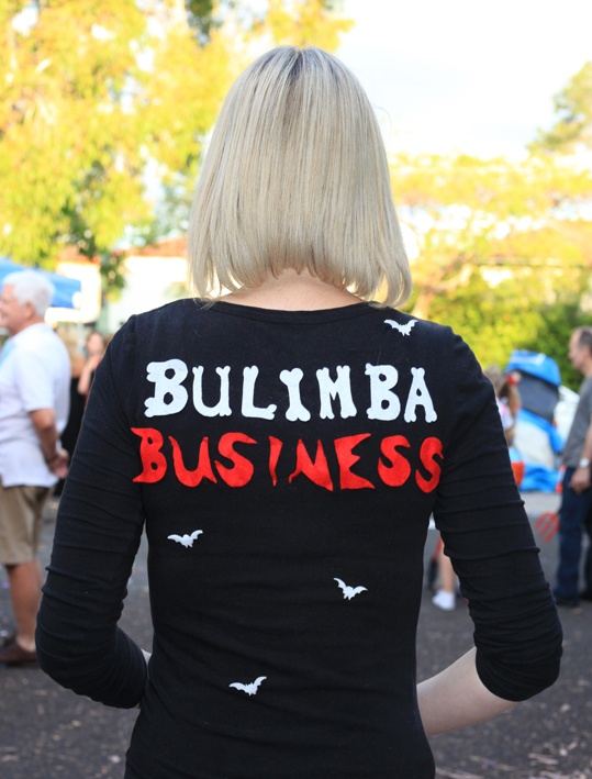 Beck Browne, Bulimba Business photographer, at Hocus Pocus in the Park 2012