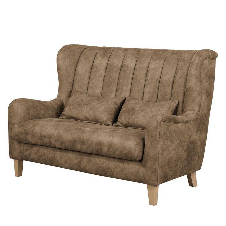 Die besten 25+ Couch 2 sitzer Ideen auf Pinterest Retro-sofa - wohnzimmer beige petrol