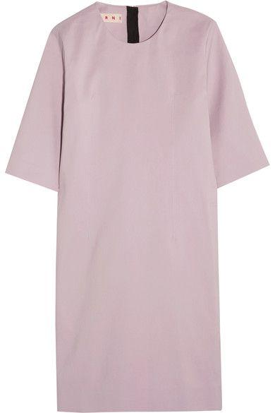 Marni - Cotton Mini Dress - Lilac - IT