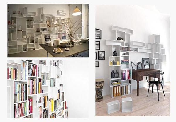 17 meilleures images propos de inspiration d co for Meuble bibliotheque modulaire