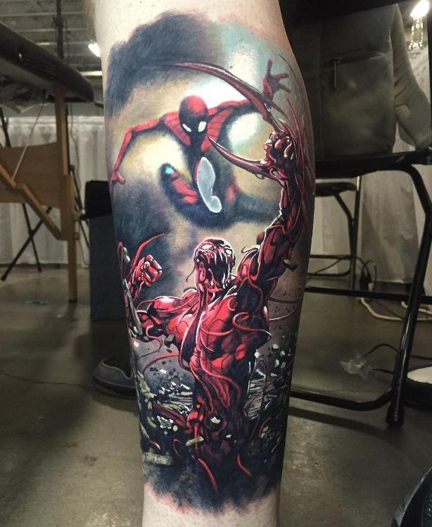 Badass Comic Book Tattoos   Inked Magazine -