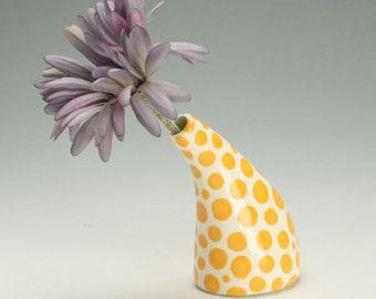 Modern ceramic vase. Modernist vase contemporary vase