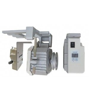 Energy Saving Servo Motor Series   Motor speed adjust range from 200 rpm upto 6000 rpm smoothly.  http://sewingdeal.in/sewing-machines-cutting/industrial-sewing-machines/servo-motor.html