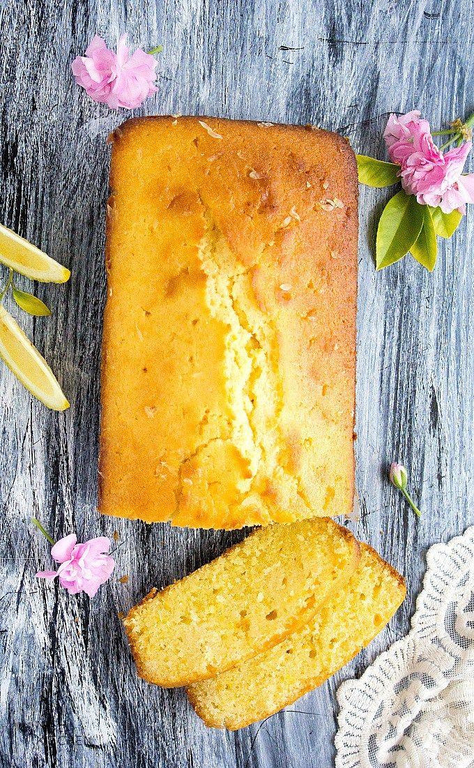 easy lemon drizzle cake recipe video