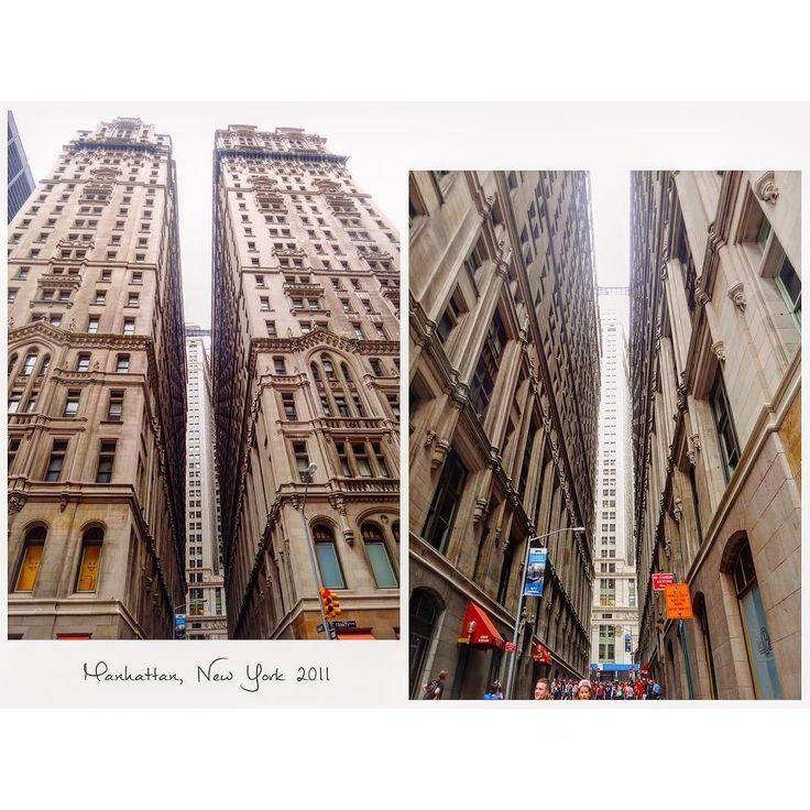 ビルの谷間が美しい #Manhattan #NY #America #downtown #September #2011  #studyabroad #worldtrip #summer #tflers #tbt  #throwbackthursday #photooftheday  #マンハッタン #ニューヨーク #アメリカ #留学 #海外 #海外生活 #一人暮らし #ビルの谷間 by worldtrip375