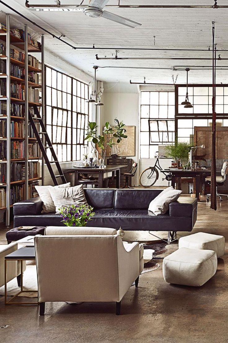 industrial-home-new-york-loft                                                                                                                                                                                 More