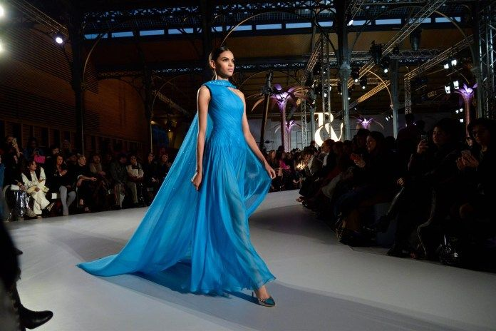Ralph Russo Celebrates Paris Haute Couture Week In Their Spring