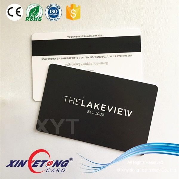CR80 30Mil Hico Magnetic Stripe Plastic Membership Cards Printable - printable membership cards