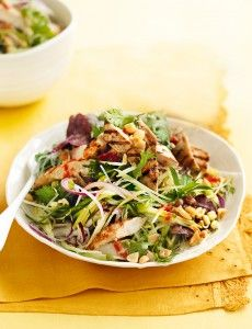 Chilli chicken with green mango salad – Recipe courtesy of Healthy Food Guide magazine