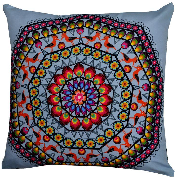Designer decorative Folk pillow № gd411