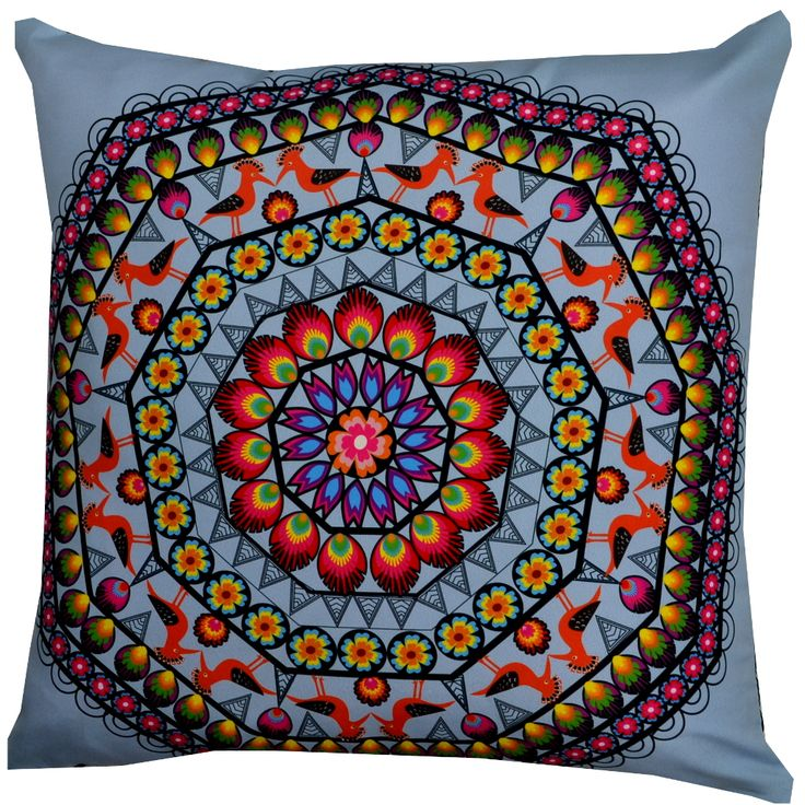 Designer decorative Folk pillow № gd411