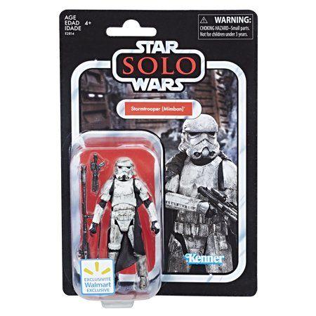 Star wars Vintage 3.75 Darth Vader storm trooper 2 pack gold Walmart EXCLUSIVE